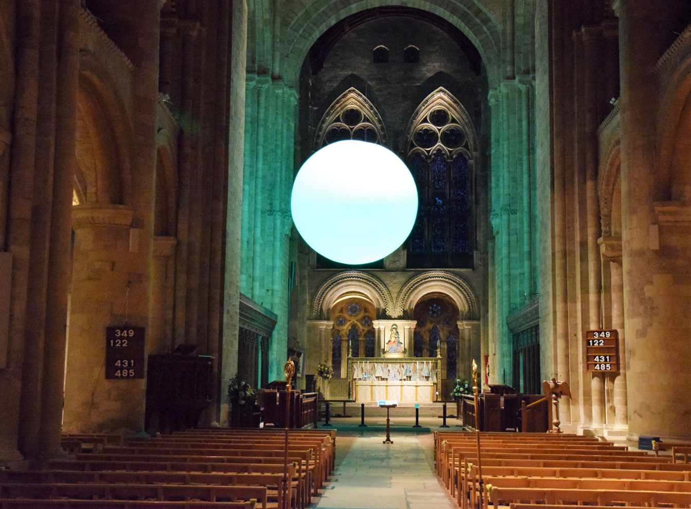 The Light, Romsey Abbey