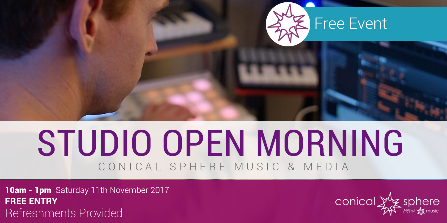 Open Studio Morning at Conical Sphere Music