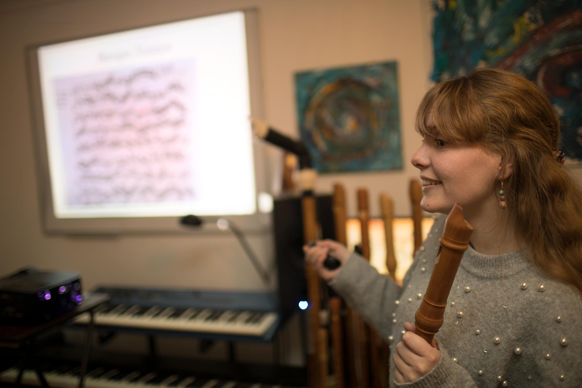 Stephanie Liney gives a Ted-Style Talk on Why You Should Love The Recorder