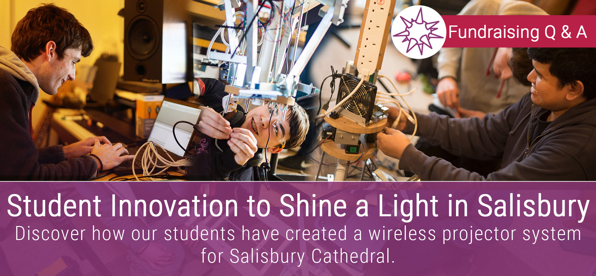 Student Innovation Shines A Light in Salisbury